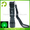 La luz verde cree xm-l t6 a prueba de agua led linterna de luz intensa