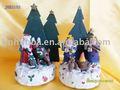 resina da árvore de natal decoração artesanato