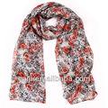 venta caliente de impresión hiyab bufanda animales estilo