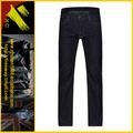 Venta al por mayor de color azul oscuro baratos dril de algodón pantalones vaqueros para hombre( xc- 00718)