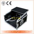 Sistema de áudio rack caso, amplificador de potência de caso, rack nos casos