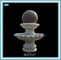 venta caliente decorativa de interior balanceo de la bola fuente de mármol