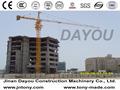 Nova carga máxima- 80 tonelada grande construção guindaste de torre