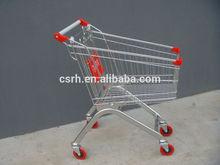 Traitement de surface électrolytique rh-se060 60l chariot de supermarché