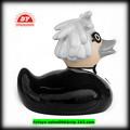 De plástico de vinilo de encargo de la promoción de pato de plástico, promocionales pato de goma