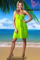 ANGELA-8350 Playa fiesta caliente verano vestido corto de las mujeres