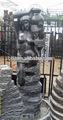 escultura do jardim fonte de mármore