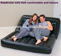 5 en 1 multifuncional doble sofá camainflable sofá de sofás camas descanso sofás