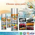 tinta spray aerosol; pintura do carro / pintura de pulverizador; metálico / fluorescente / tinta spray cromo, tintas de borracha