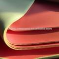 Soft tecido de borracha neoprene folha, neoprene de poliéster laminado de tecido de microfibra de folha