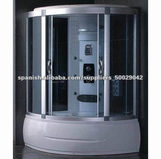 Cabina de hidromasaje con sauna cuartos ducha - Cabina ducha sauna ...