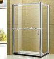 ( 025b) ducha puerta corredera para el recinto de la ducha