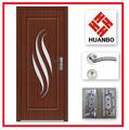 tallada puerta de madera sólida