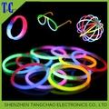 colorido divertido evento intermitente partido pulseras glow stick