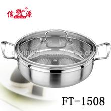 2014 nuevos productos de calidad del hight de acero inoxidable cocina ollas