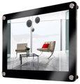 montado en la pared marco de fotos de acrílico transparente