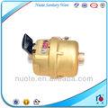 latón volumétrico del pistón rotatorio contador del agua