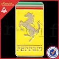 exquisito ferrari rectángulo coche insignia emblema