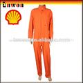 de color naranja de seguridad ropa de trabajo sobretodo de algodón