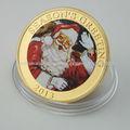 2013 Promoción Decaration Navidad Regalo de recuerdo de la moneda
