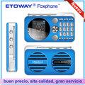 T80 FM radio teléfono móvil con cámara