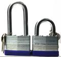 de bloqueo de seguridad laminado candado con llave por igual 40mm candado de llave