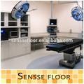 suelos de pvc comercial en rollos para el hospital