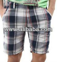 Tejido pantalones cortos boxerts- pantalones de algodón