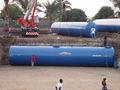 Tanque de almacenamiento de combustible Diesel en Acero fibra de vidrio subterráneo