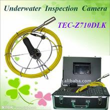Pozo de agua de la cámara de inspección tec-z710dlk, bajo el puente de la cámara inspecton