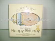 De cumpleaños tarjeta de felicitación, tarjeta de felicitación