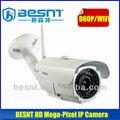 Profesional 960p cmos de la cámara web mega- píxeles de la cámara ip wifi bs-ip33