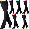 Tela de Lycra ropa Deportiva de Compresión de Pantalón para las Mujeres