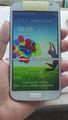 telefono android S4 chino con air gesture con logo sam