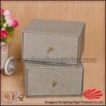 Dh4015# especial de lujo de estilo personalizado de regalo de cartón cajas cajón con caliente