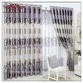 La cortina de valores, 100% clásica de poliéster cortina del telar jacquar, cortina de de espaguetis