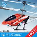 fd1109 helicóptero del rc de aire lobo ir helicóptero de control remoto