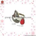 el más nuevo diseño de aves lindo anillos de perlas