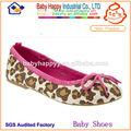 moda leopardo de zapato de niño