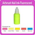 temporales del aerógrafo fluorescente tinta clavo 5 diferentes colores disponibles