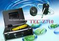 7 pulgadas de vídeo de la cámara de inspección de tuberías de alcantarillado tubo de drenaje tecz710