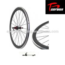 Roues en alliage de carbone, de carbone roues de vélo, roues en carbone à pneus 38mm mat. ud