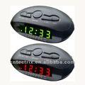 digital led de alarma del reloj con am y fm de radio
