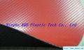 1mm néoprène./hypalon enduit tissu de polyester pour la vie en bateau