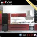 2014 De Color Vino Tinto Diseños de Gabinete de Cocina