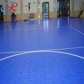 piso de enclavamiento cancha futbol de interior