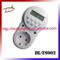 LCD interruptor temporizador digital programável semanal