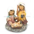 Tradicional de resina religiosas de los niños de la sagrada familia figuras de la natividad. Zj-06584-6