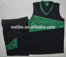 2014 nuevo diseño de conjunto uniforme de baloncesto para los hombres