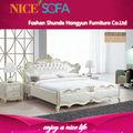 King size juego de dormitorio en alto brillo/elegante y lujoso de oro champagne dormitorio h12 sony ericsson